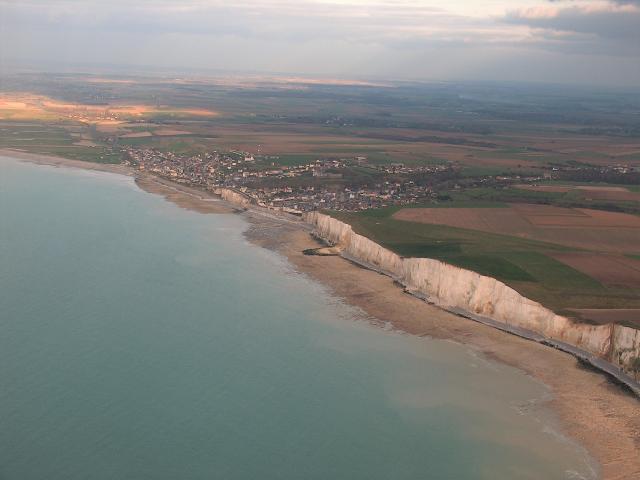 Ault falaises vue aérienne ©Arnaud Bovin