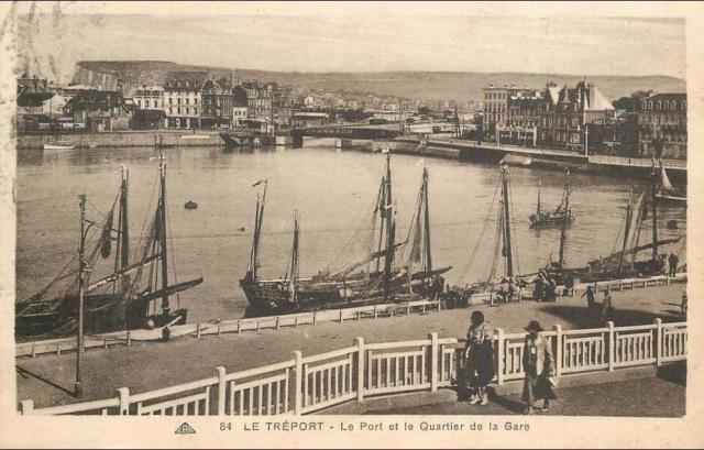 Carte Postale Le Treport