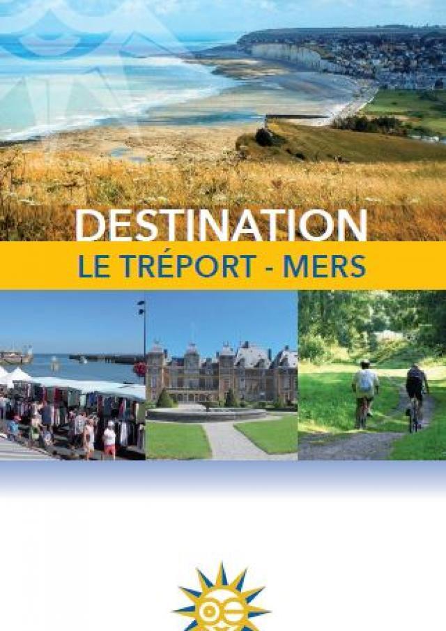 Carte Touristique Destination Le Treport Mers