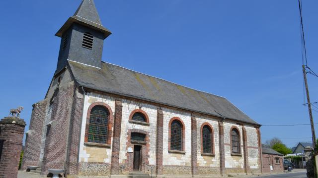 Destination Le Treport Mers Embreville Eglise Village
